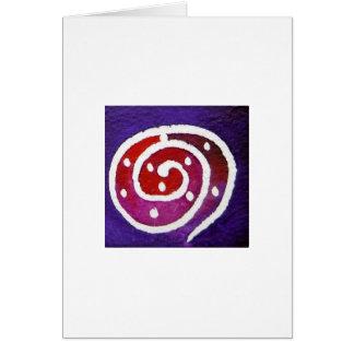 Aboriginal Snail II Card