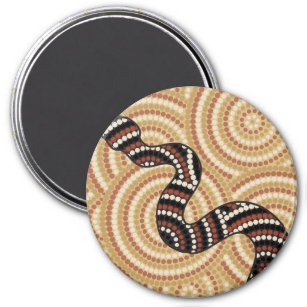 Aboriginal Snake Kitchen Dining Supplies Zazzle Com Au
