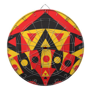 aboriginal tribal dartboard