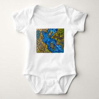 Aboriginal Turtles Painting T-shirts