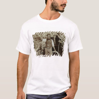 Aborigine with a Boomerang, c.1860s (sepia photo) T-Shirt