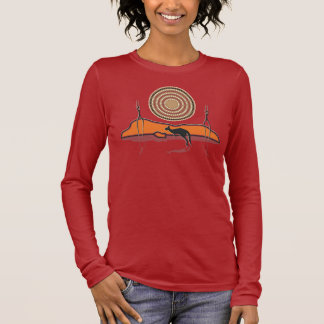 Aborigional Sunrise Long Sleeve T-Shirt