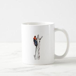 Aborist Tree surgeon christmas present gift Coffee Mug