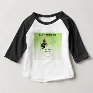 Aborist Tree surgeon Fathers Day present gift. Baby T-Shirt