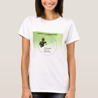 Aborist Tree surgeon Fathers Day present gift. T-Shirt