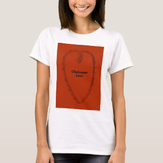 Aborist Tree surgeon Valentines present gift. T-Shirt