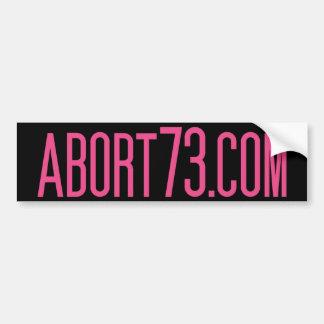 Abort73 com bumper stickers