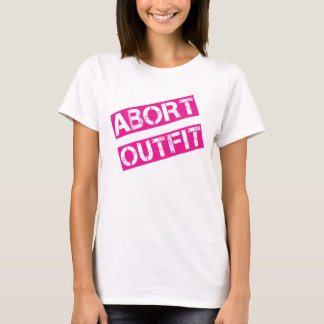 Abort Outfit Summer T-Shirt