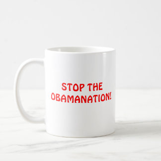 ABORTION?, STOP THE OBAMANATION! COFFEE MUG