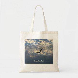 Abounding Faith Bird - Tote Bag