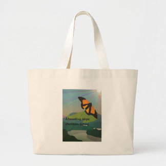 Abounding Hope Christian School Large Tote Bag