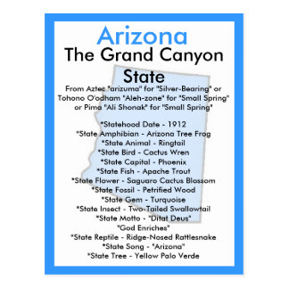 About Arizona Post Cards