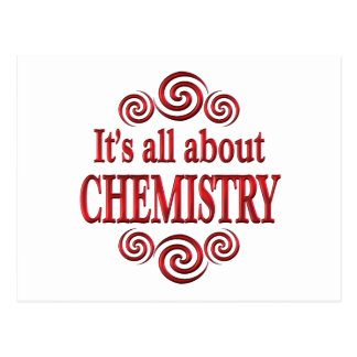 About Chemistry Post Card