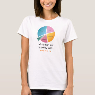 """About-Face """"Pie-Chart"""" Tshirt"""