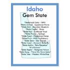 About Idaho Postcard