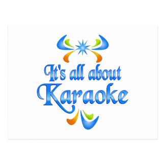 About Karaoke Postcard