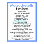 About Massachusetts Postcard