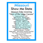 About Missouri Postcard