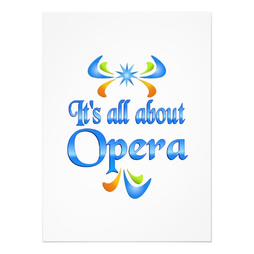 About Opera Announcement
