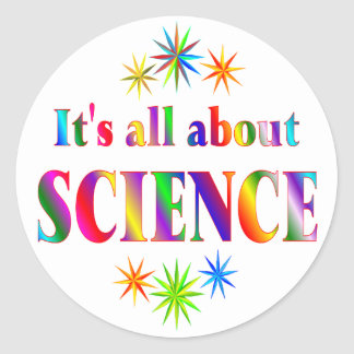 About Science Stickers