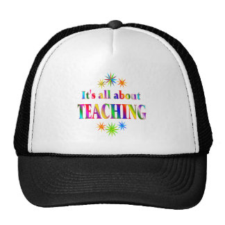 About Teaching Mesh Hat