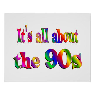 About the 90s posters