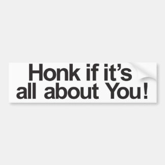 About you bumper sticker