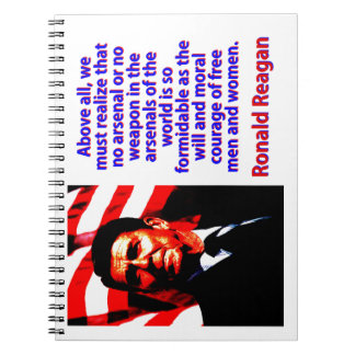 Above All We Must Realize - Ronald Reagan Notebooks