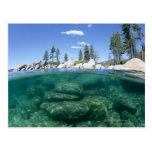 Above and below Lake Tahoe Post Card