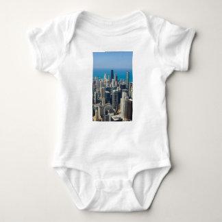 Above Chicago Baby Bodysuit