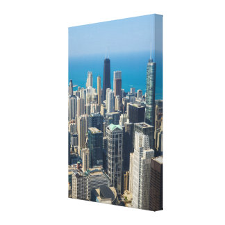 Above Chicago Canvas Print