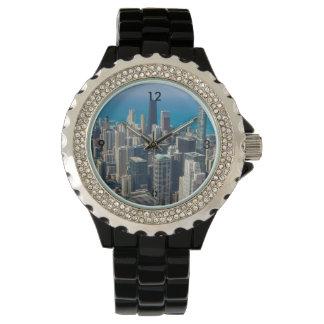 Above Chicago Wristwatch