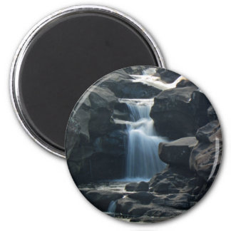 """Above Narnia"" Round Magnet"