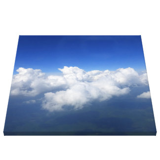 above the clouds 03 canvas print
