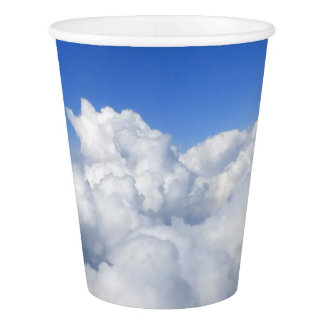 above the clouds 03 paper cup