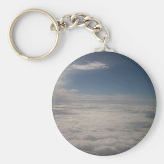 Above the Clouds Key Ring