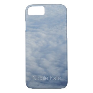Above the clouds Monogram iPhone 8/7 Case