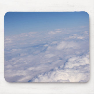 above the clouds mouse mat