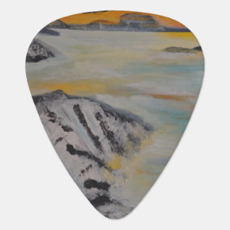 Above the clouds plectrum