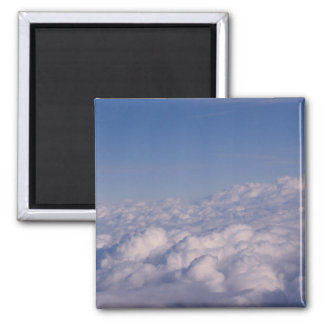 above the clouds square magnet
