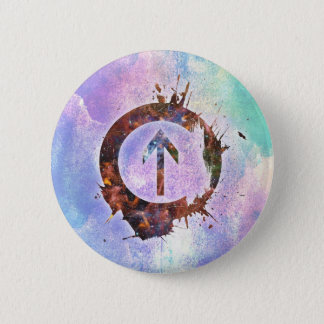 Above the Influence 6 Cm Round Badge