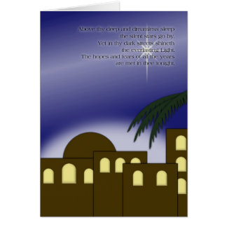 """Above thy deep..."" Greeting Card"