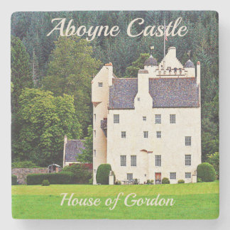 Aboyne Castle – House of Gordon Stone Coaster