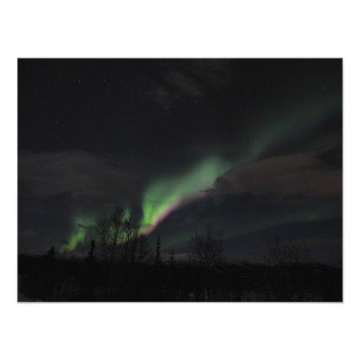 ABPAG Aurora Borealis Purple and Green Photographic Print