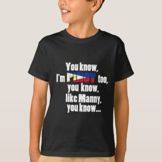 ABPinoy_pinoy like manny T-Shirt