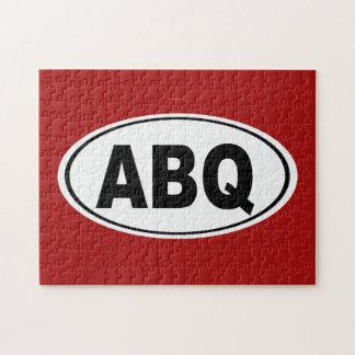 ABQ Albuquerque New Mexico Jigsaw Puzzle
