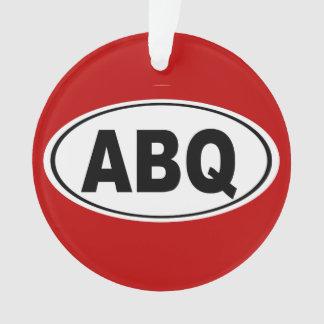 ABQ Albuquerque New Mexico Ornament