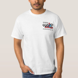 ABQ karting club T-Shirt white