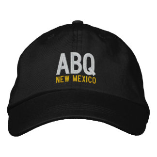 ABQ New Mexico Embroidered Hat