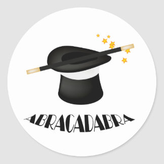 Abracadabra Magic Magician Stickers